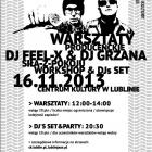 Warsztaty Producenckie & Dj Set / DJ Feel-X & DJ Grzana - zdjęcie 1/3