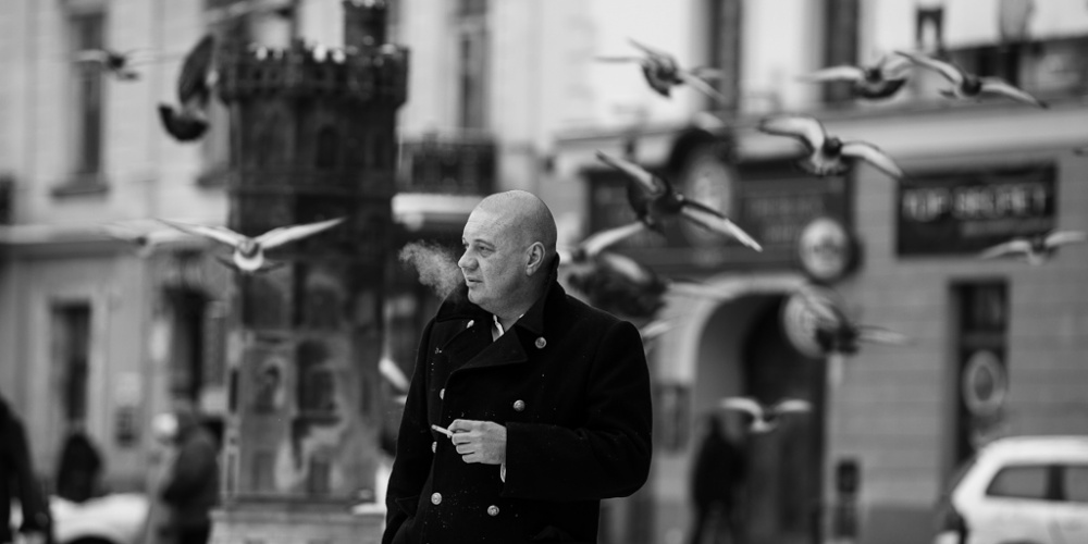 Marek Dyjak – Polizany przez Boga / Recital + Spotkanie autorskie
