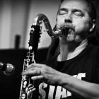 7 Lublin Jazz Festiwal / Mazzoll gra sam: jeden dźwięk i improsongi na klarnet basowy - zdjęcie 1/1