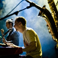 Electro - Acoustic Beat Sessions feat. Mika Urbaniak / 7 Lublin Jazz Festiwal / 25.04.2015 / fot. Robert Pranagal - zdjęcie 6/17