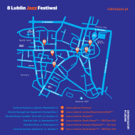 Map of 8. Lublin Jazz Fesival