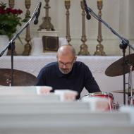 Jazz w mieście / Jachna/Mazurkiewicz/Buhl / 17.04.2016 / Kościół Ewangelicko-Augsburski, fot. Wojtek Kornet - zdjęcie 6/9