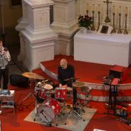 Jazz w mieście / Jachna/Mazurkiewicz/Buhl / 17.04.2016 / Kościół Ewangelicko-Augsburski, fot. Wojtek Kornet - zdjęcie 7/9