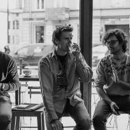 """Jazz w mieście / Derek Brown """"BEATbox SAX"""" / 19.04.2016 / Kap Kap Cafe, fot. Wojtek Kornet - zdjęcie 5/14"""