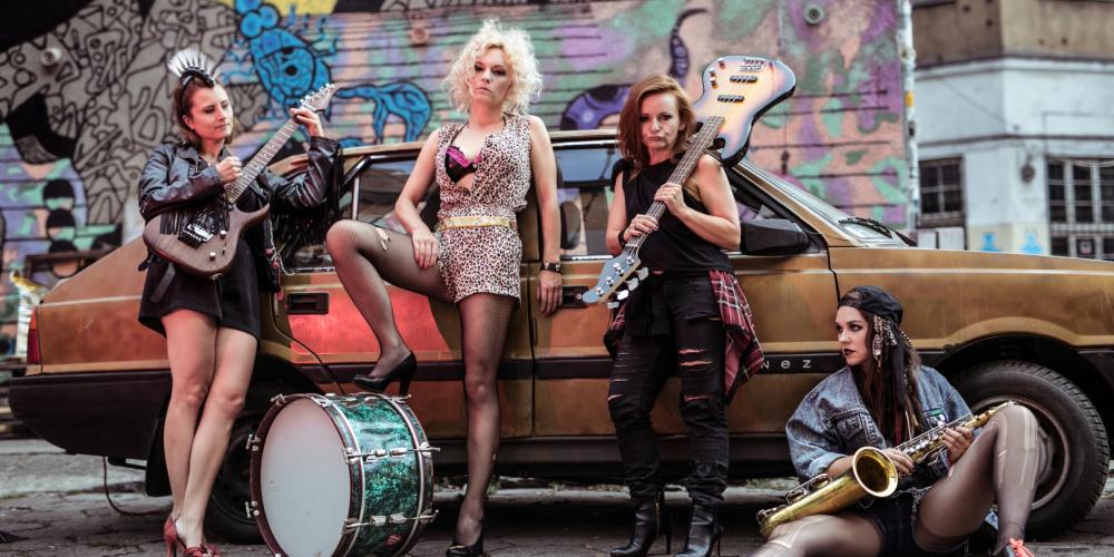 Pożar wBurdelu – Żelazne Waginy – feministyczny horror muzyczny