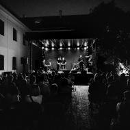 Marek Dyjak&Goście(Skubas, Basia Derlak) / Wirydarz CK / 11.08.2017r. / zdj. Maciek Rukasz - zdjęcie 7/9