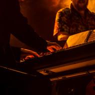 Mateusz Gawęda Trio / Wirydarz Centrum Kultury / 30.07.20174r. / zdj. Adrianna Klimek - zdjęcie 7/13