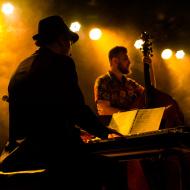 Mateusz Gawęda Trio / Wirydarz Centrum Kultury / 30.07.20174r. / zdj. Adrianna Klimek - zdjęcie 13/13