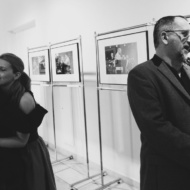 "Vernissage of the photography exhibition of Maciej Nowak ""Looking at jazz"" / Gallery ""OKNA"" of Municipal Public Library in Lublin - photo 2/8"