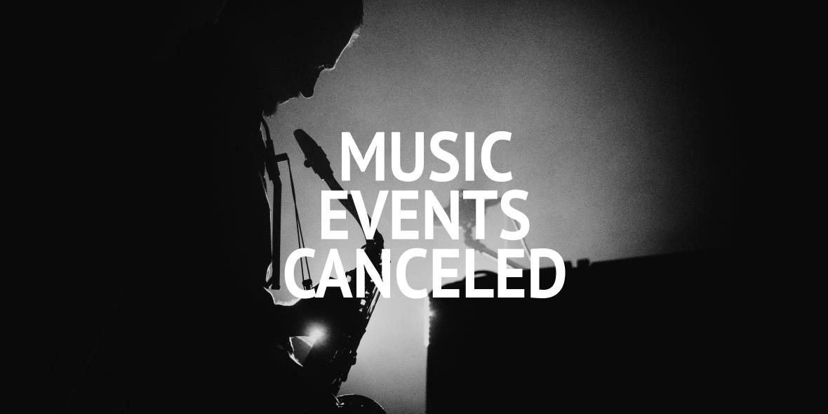 Wydarzenia muzyczne wstrzymane do 15 kwietnia 2020 r.